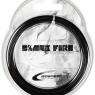 Tennissaite ISOSPEED BLACK FIRE 1,25 mm - Saitenset
