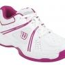Dětská tenisová obuv Wilson NVISION Envy Junior bílo-růžová, WRS319540