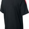Dětská tenisová polokošile  NIKE Team Court 642071-011 černá