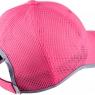Tenisová / běhačková dámská dámská kšiltovka Nike Run Knit Mesh Cap 810138-627 růžová