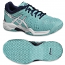 Dětská antuková obuv Asics Gel Resolution 6 Clay GS C501Y-3901 světle modrá