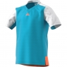 Dětské tričko Adidas Melbourne Line Tee BJ8207 světle modré