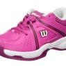 Dětská tenisová obuv Wilson Envy JR WRS322320  růžová