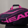 Tennistasche HEAD Team 9R Supercombi Limited  pink
