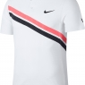 Tennis T-Shirt NIKECOURT Federer ADVANTAGE 887541-100 weiss