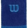 Tenisové potítko WILSON Extra Wide  Wristband  modré
