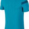 Tenisové tričko NikeCourt Zonal Cooling RF Advantage 888202-430 modré