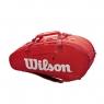 Tenisový bag Wilson SUPER TOUR 2 Comp červený