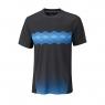 Tenisové tričko Wilson UW Statement Crew Ebony WRA758302