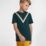 Kinder T-shirt Nike Court Dri-FIT RF AQ0326-372 grün