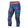 Dívčí legíny Nike Pro Capri 938996-431 modro-růžové