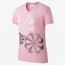 Dívčí tréninkové tričko Nike 923639-654 růžové