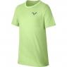 Dětské tenisové tričko Nike Rafa GX Tee AR2384-716 světle zelená