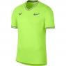 Tenisové tričko NIKECOURT AEROREACT RAFA AQ7660-716 neonově žluté