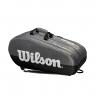 Tenisový bag Wilson Team 3 Comp šedý