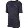 Dětské tenisové tričko Nike RafaTee BV7032-015 černé