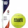 Tenisový míč Wilson Roland Garros Clay Court 4 v dóze - karton