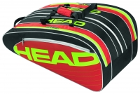 Tennistasche Head ELITE Monstercombi rot