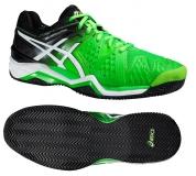 Tennisschuhe Asics Gel-Resolution 6 Clay grün E503J-8590