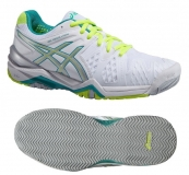 Damen Tennisschuhe Asics Gel-Resolution 6 Clay E353Y-0188