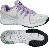 Kinder Tennisschuhe Nike Vapor Court GS grau-lila