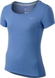 Mädchen T-Shirt Nike Contour 803722-486 blau