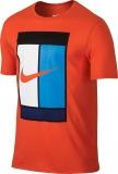 Tenisové tričko Nike OZ Court Logo Tee 739479-696 červené