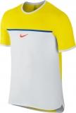 Tennis T-Shirt Nike Court Challenger Premier Rafa Crew 728956-741 gelb
