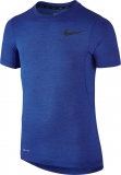 Kinder Tennis T-Shirt Nike Shortsleeve Top 724416-480 blau