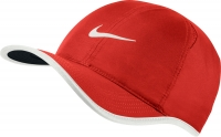 Tenniskappe Nike Feather Light 679421-696 rot