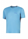 Tennis T-Shirt Babolat Crew Neck Perf 2MS16011-106 blau