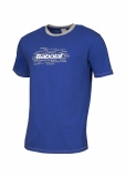 Tennis T-Shirt Babolat Training Core 40F1682Y-216 blau