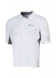 Tennis T-Shirt Babolat Polo Perf 2MS16021-101 weiss