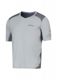 Tennis T-Shirt Babolat V-Neck Perf 2MS16012-107 grau