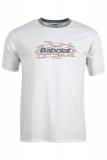 Dětské tričko Babolat Tee Core 42F1582-101 bílé