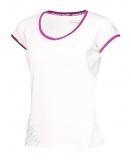 Dívčí tenisové tričko Babolat Cap Sleeves Perf 2GS16031-101 bílé