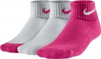 dětské ponožky NIKE Performance Cotton růžová