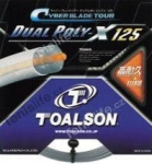 Tennissaite TOALSON CYBER DUAL POLY-X - Saitenrolle