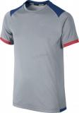 Dětské tričko Nike Miler SS Crew šedé 589607-012