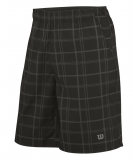Kinder Tennis Kurzehose Wilson Rush Plaid 8 Short WR2008700  schwarz