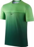 Tenisové tričko Nike Challenger Rafa Crew Gradient 802853-342 zelené