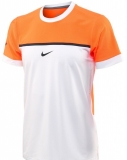 Tenisové tričko Nike Challenger Premier Rafa Crew oranžové 646097-810