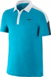 tenisová polokošile Nike Team Court 644788-407 modrá