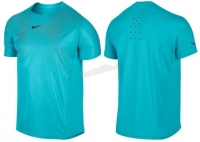 Tenisové tričko NIKE PREMIER RAFA CREW modré 551631-408