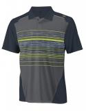 Tennis T-Shirt Wilson Specialist Stripe Polo WR1071200 grün