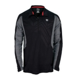 Tennis T-Shirt Wilson Ashland Long Sleeve 1118770 schwarz