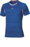 Tennis T-Shirt Asics Graphic Top 110441-0861 blau