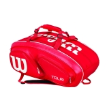 Tennistasche  Wilson Tour V 15 Pack red