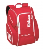 Tennisrucksack Wilson Tour V Backpack Large rot