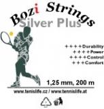 Tennissaite BOZI STRING Silver PLUS - Saitenrolle